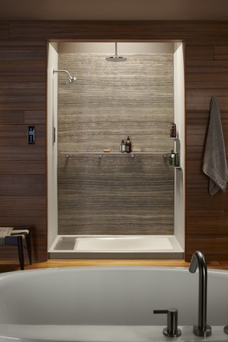 Bring your shower into focus with a dramatic Choreograph VeinCut wall.    Get the details.