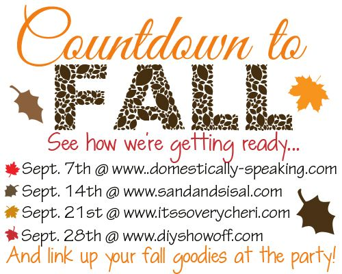 Countdown to Fall linky party