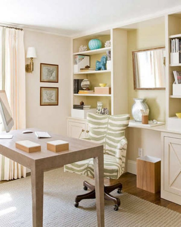 Elegant home office style 15 30 Creative Home Office Ideas: Working from Home in Style