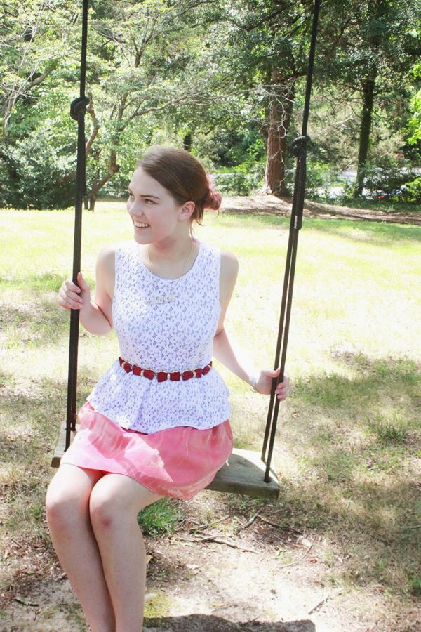 I\'m At Camp! Pt. 8 - Peplum, Pink And A Touch Of Blue