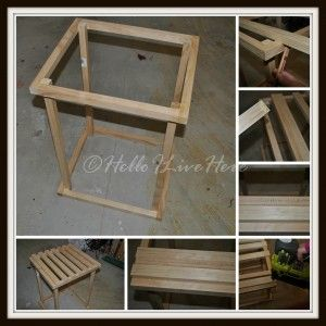 Step 3 - Bottom Base of Rustic Planter Box