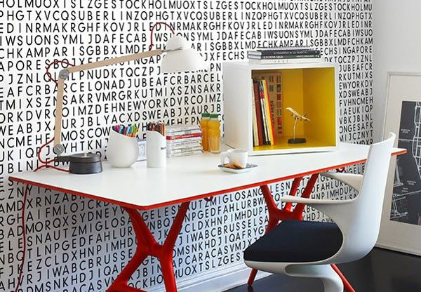 letters indoors 26 30 Creative Ways of Bringing Letters and Words Into Your Home