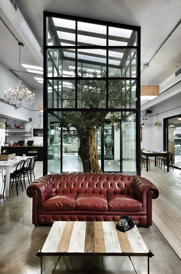 kook restaurant 2 Modern and Surprising Kook Restaurant & Pizzeria Design in Rome