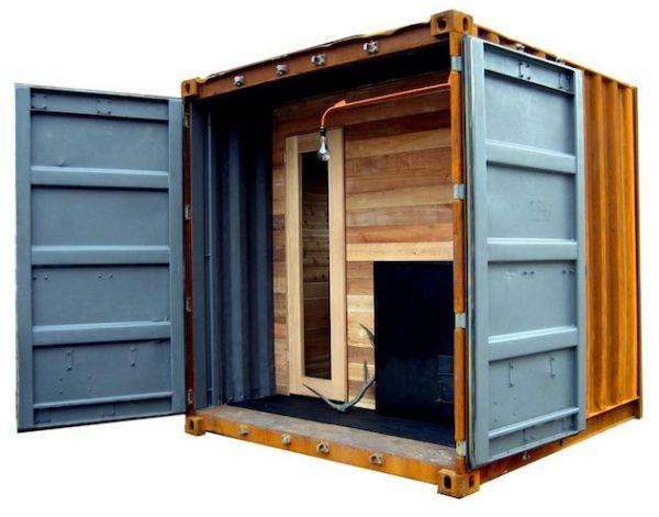 Traditional Wood Sauna Box by Castor (5)