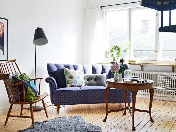 Two floor apartment in Gothenburg 4 Ingeniously Designed Two Floor Apartment With Decadent Accents