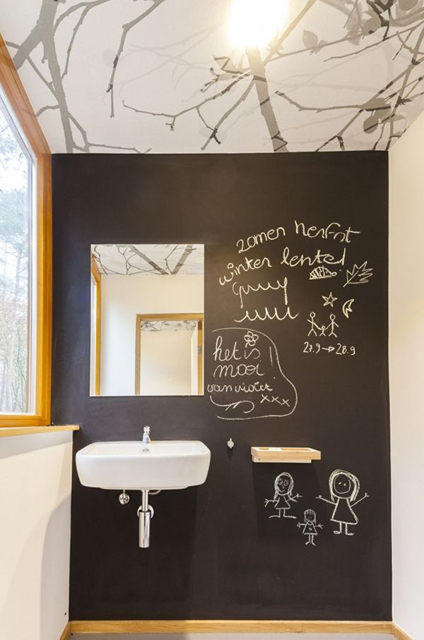 Bathroom12 Creative and Inspiring Treehouse for Children and Adults in Belgium