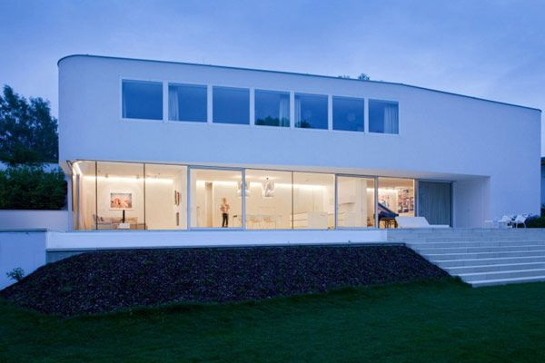 architecture House L Sustainable Residence In Austria Designed in White: House L