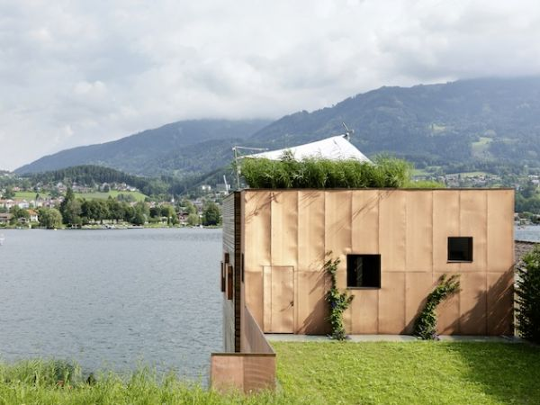 Land Meets Water With Austrian Boat's House (5)