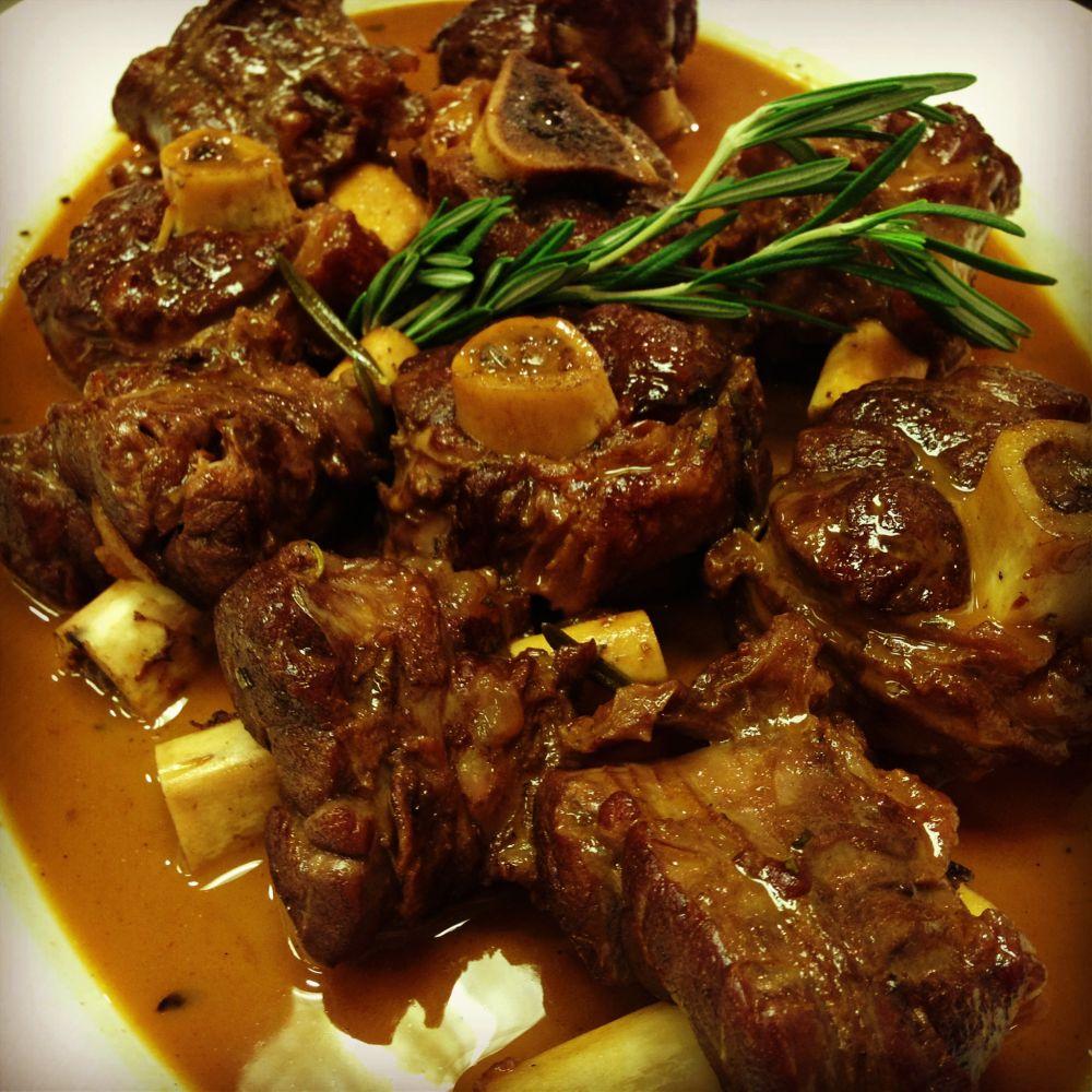 Valentine's Day Dinner: Braised Lamb Shanks by Jackie ...