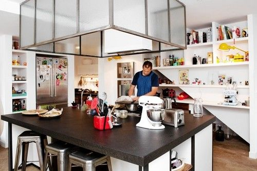 The Home Kitchens of Restaurant Chefs by Annie Wang   Epicurious ...