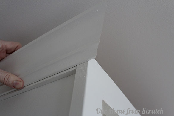 How To Add Trim To Cabinets By Our Home From Scratch