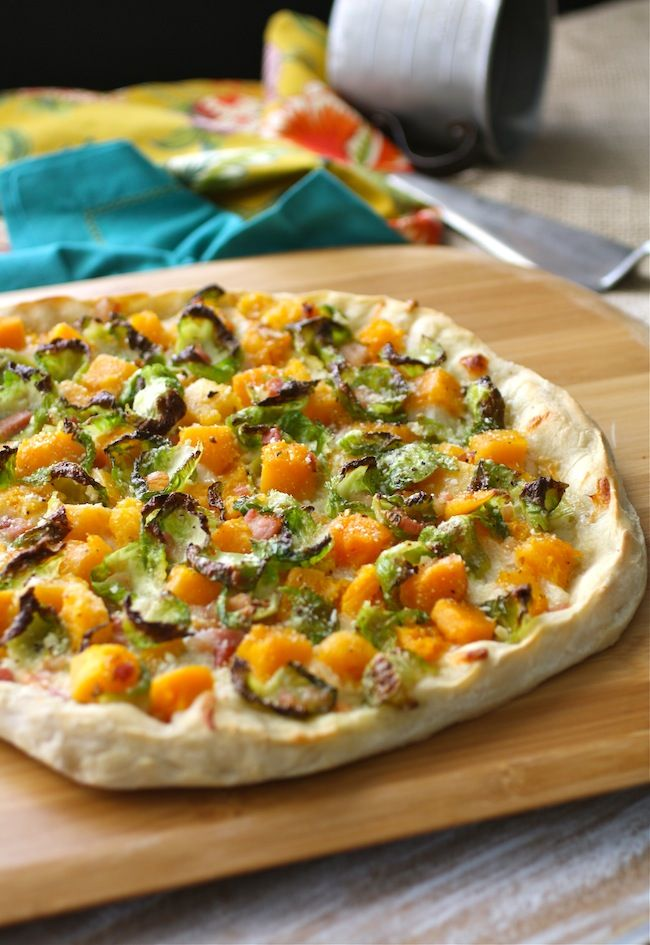 Brussels Sprouts, Butternut Squash, and Pancetta Pizza by Patricia ...