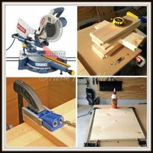 Steps for cutting Frame