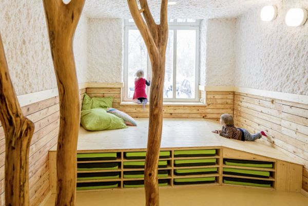 Nature-Inspired Day Care Interior by Baukind (8)