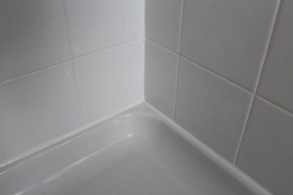 fresh shower caulk silicone