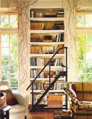 decorating ideas with books 13