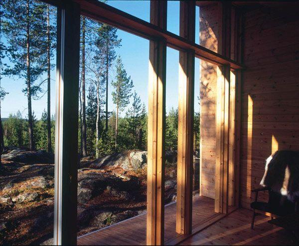 villa valtanen modern residence 12 Creative Wooden Hideaway in Lapland, Finland: Villa Valtanen
