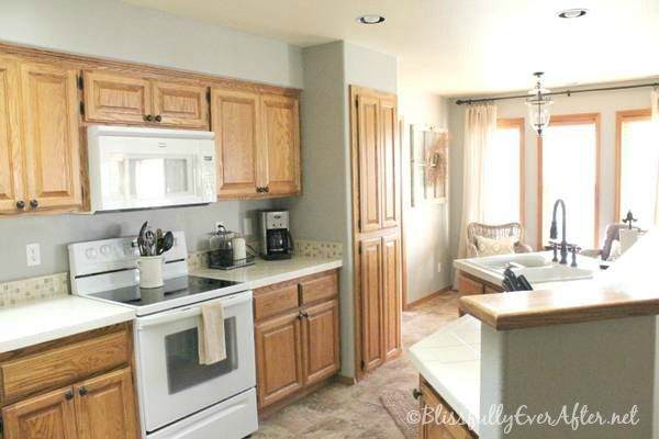 Kitchen Staged Home