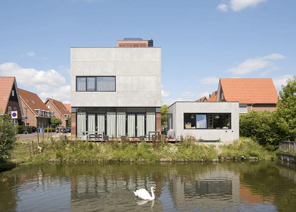 modern villa 5 Cost efficient Modern Home in The Netherlands Offering a High Living Standard