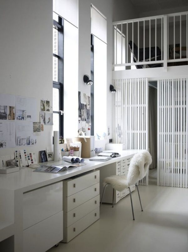 Elegant home office style 26 30 Creative Home Office Ideas: Working from Home in Style