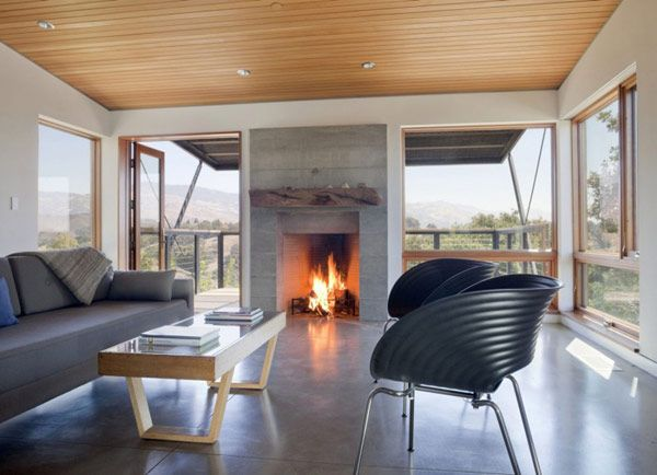 santa ynez house 14 Refined Interiors Showcased by Energy Efficient Residence in California