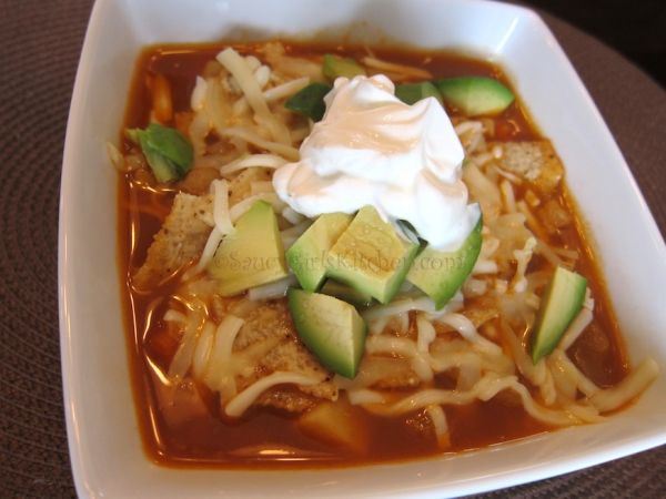 Vegetarian Tortilla Soup by Helena Spensatelli | Epicurious Community ...
