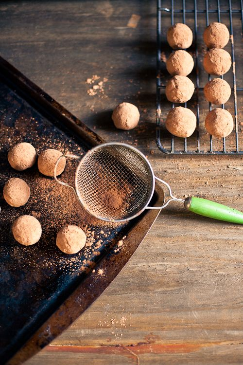 Cocoa Covered Pistachio Date Truffles by Prerna Singh ...