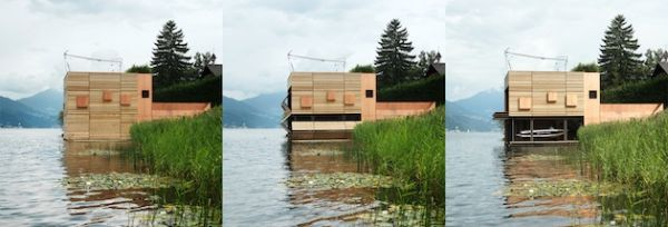 Land Meets Water With Austrian Boat's House (10)