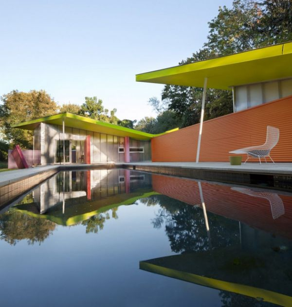 Cheerfully Awesome Cubist Home in New York7