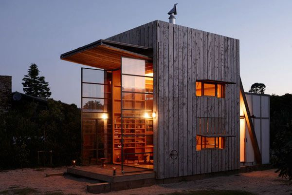 Whangapoua Hut by Crosson Clarke Carnachan 1 Small, Smart & Easily Movable Hut On New Zealand's Shoreline