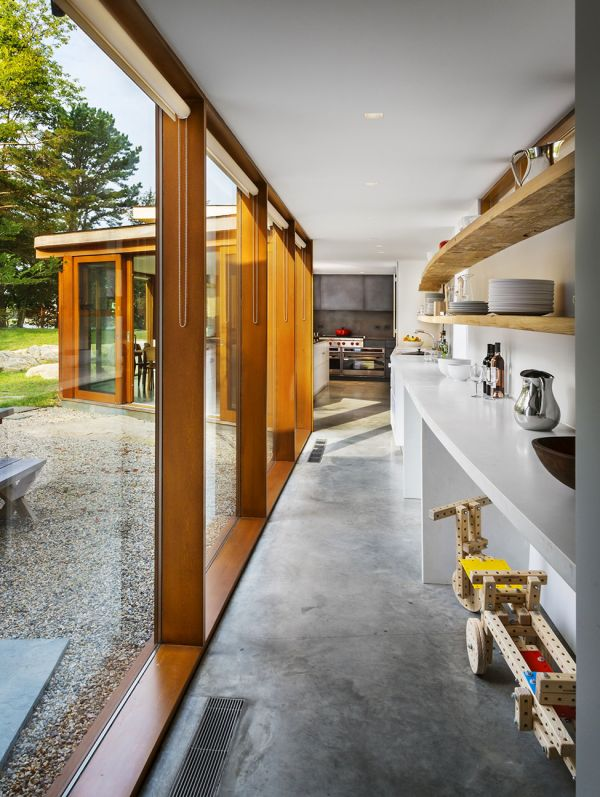 stonington residence 9 Renovated Historic House With Appealing Design Features in Connecticut