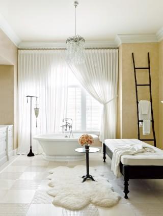 Contemporary bathroom by Juan Montoya Design in Southampton, NY