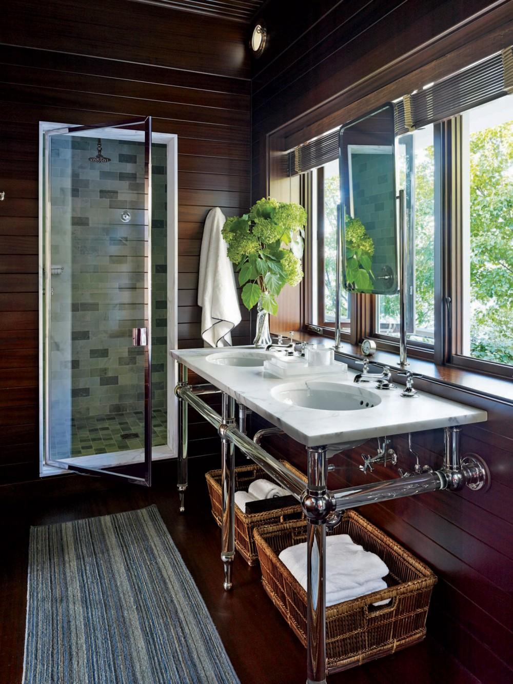 Contemporary bathroom by michael s smith inc by for K architecture geneve