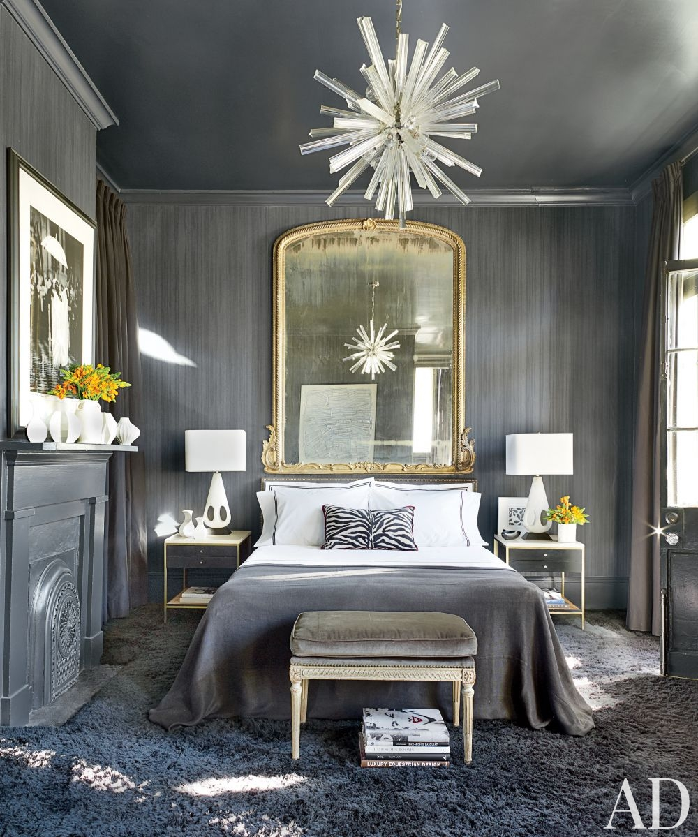 Contemporary bedroom by lee ledbetter associates ad - New orleans style bedroom decorating ideas ...