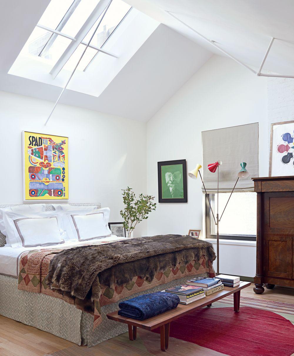 New York Bedroom Interior Design White Bedroom Cupboards Elegant Bedroom Colors Small Apartment Bedroom Design: Contemporary Bedroom By Milly De Cabrol Ltd. And Risteárd