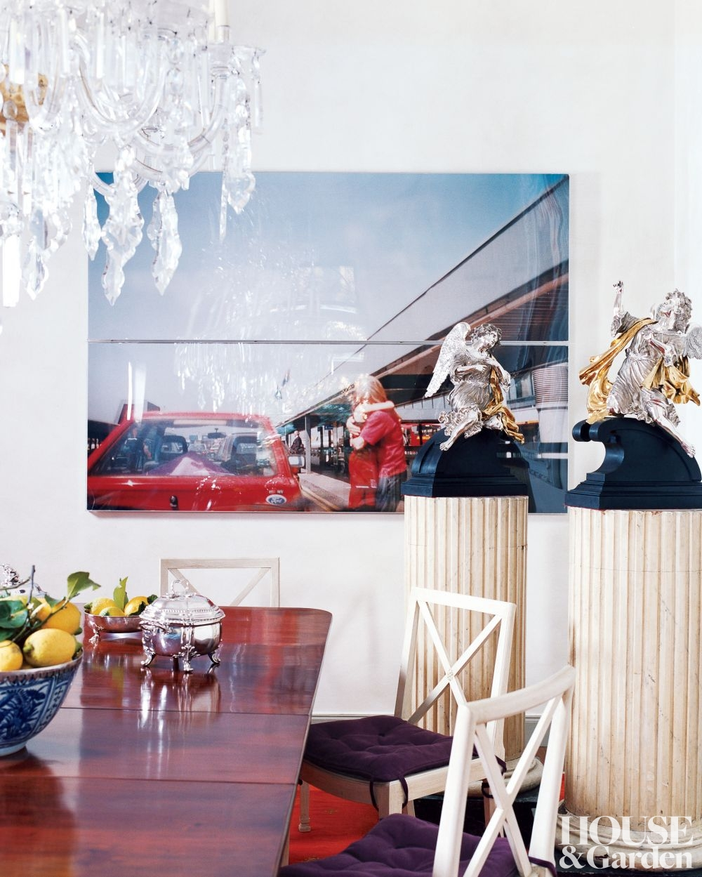 Contemporary Dining Room by Andrea Gobbi in Rome, Italy