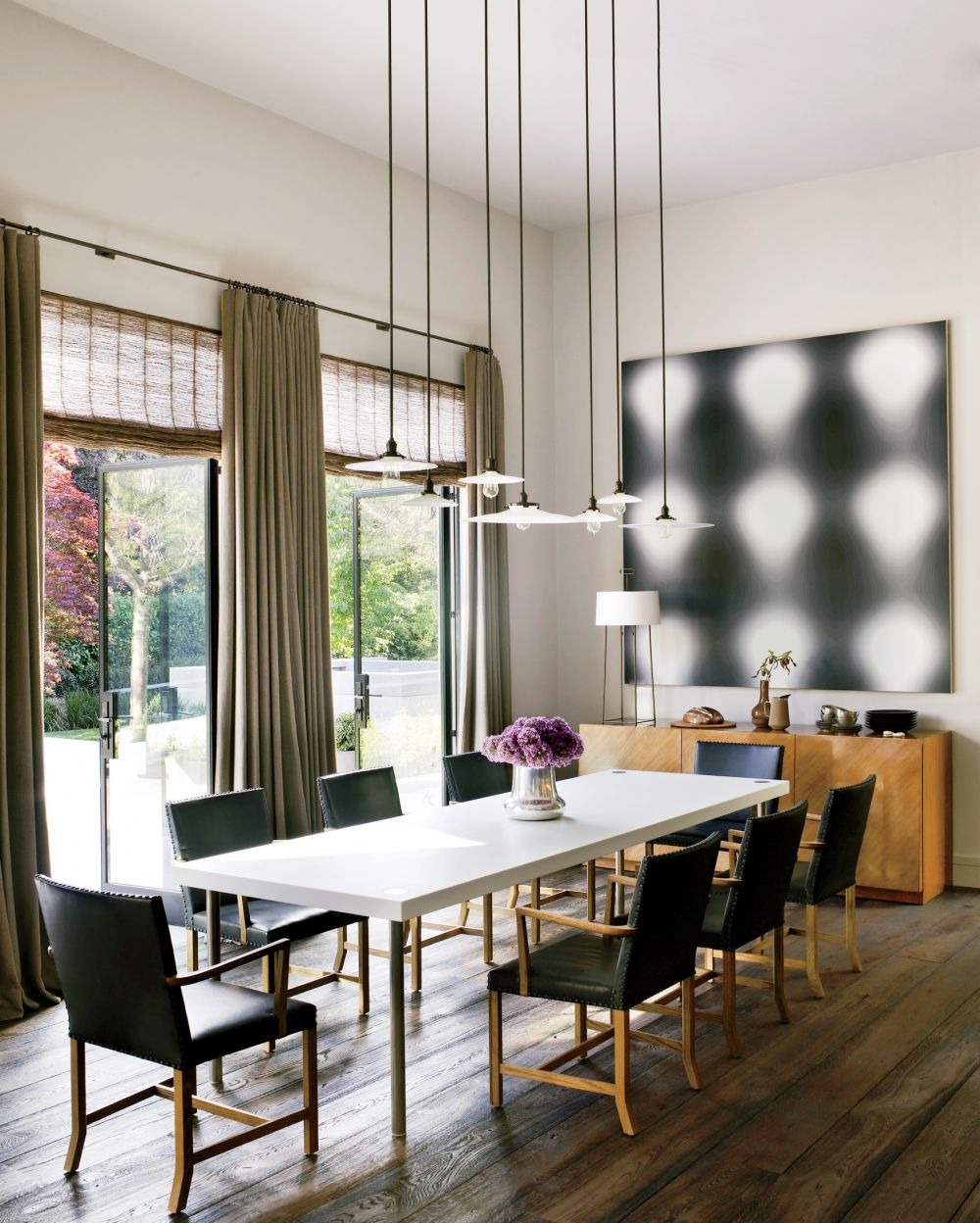 Kitchen Table Lighting Ideas Gallery: Contemporary Dining Room By Steven Volpe Design By