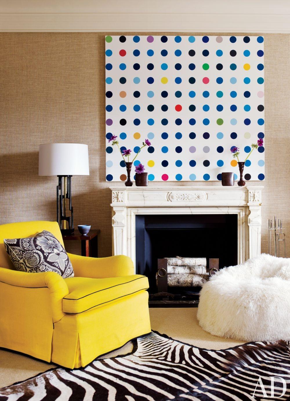 Contemporary living room by david kleinberg design for New york living room ideas