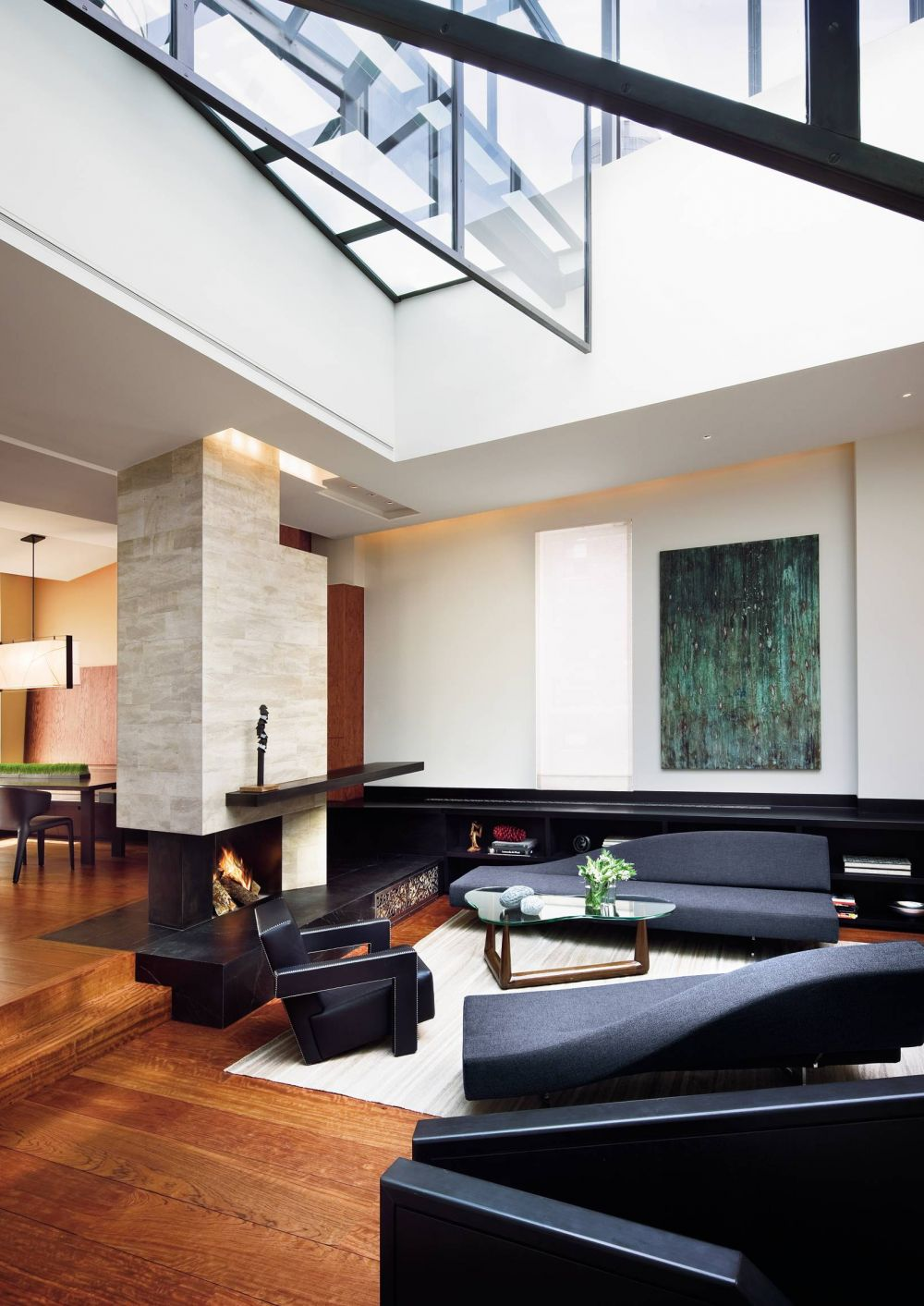 Contemporary living room by charles rose by architectural for Modern living room nyc