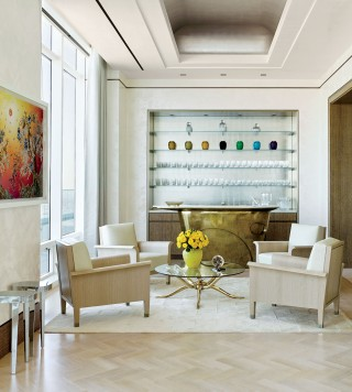 Contemporary Living Room by Rockwell Group and Rockwell Group in New York, New York