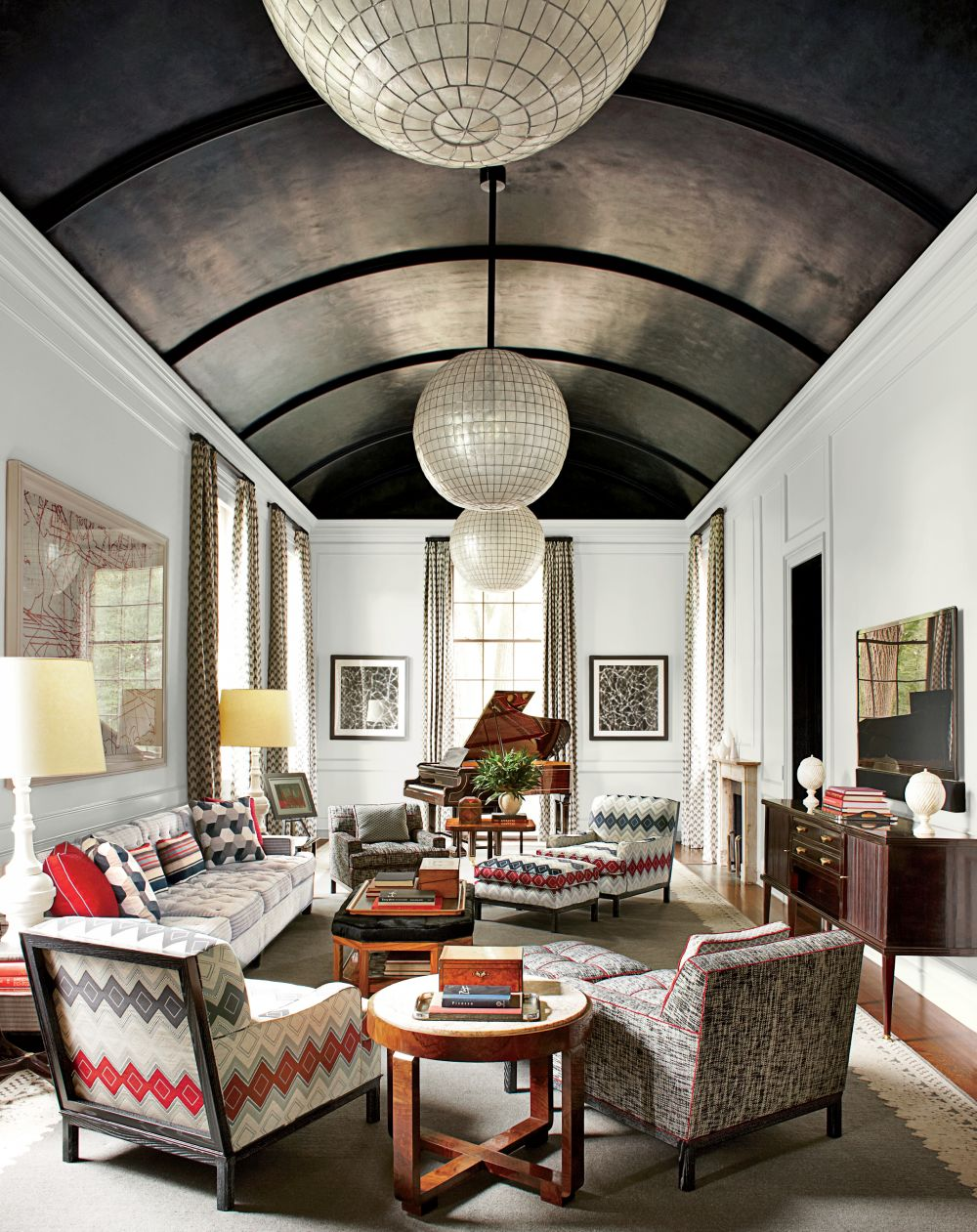 Contemporary Living Room By S R Gambrel Inc By