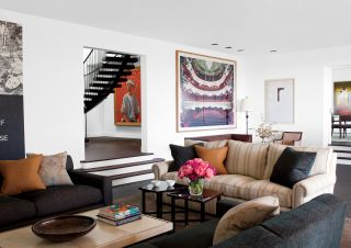 Contemporary Living Room by Waldo\'s Designs and Rios Clementi Hale Studios in Los Angeles, California