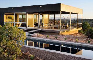 Contemporary Pool and Marmol Radziner in Great Basin Desert, Utah