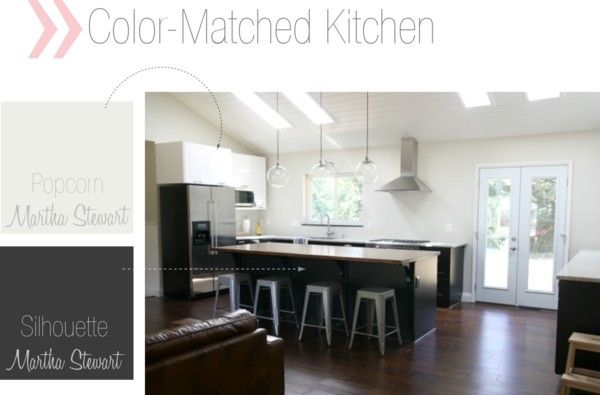ikea kitchen color-matched