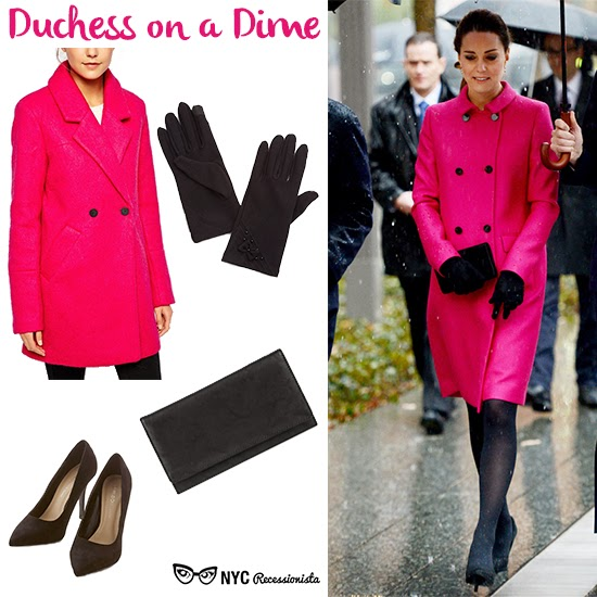 Duchess on a Dime: Kate\'s Pink Coat