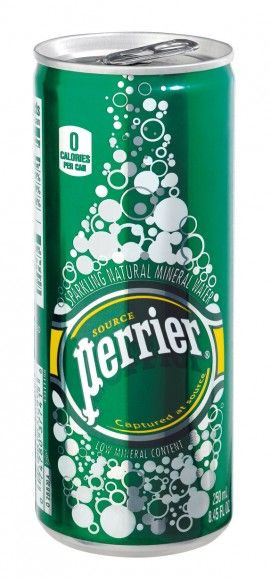 Perrier slim can traditional
