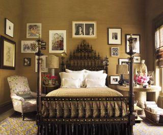 Exotic Bedroom by Muriel Brandolini in New York City