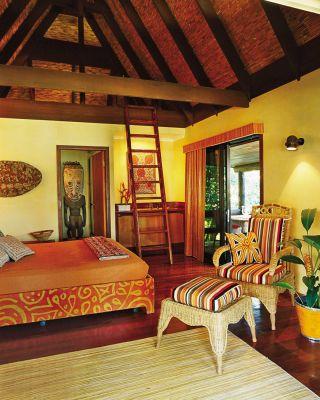 Exotic Bedroom by Pamela Mathieson Croci and Roger Parkin in Hamilton Island, Australia