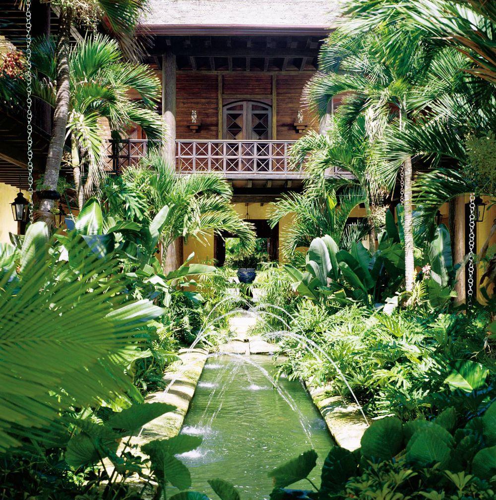 Exotic garden by juan montoya design by architectural for Exotic garden designs