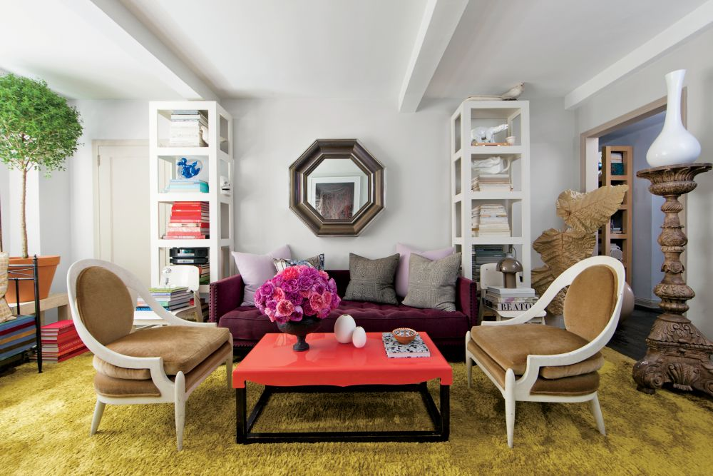 Exotic Living Room By Carlos Mota By Architectural Digest
